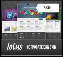 Lotus DNN skin
