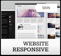 Responsive DNN skin