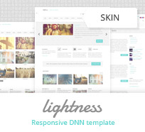 Lightness DNN skin