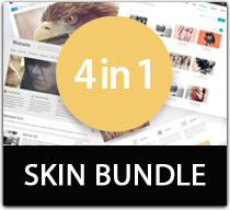 WSC 4 in 1 skin bundle