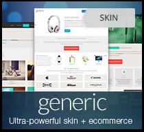 Generic DNN skin