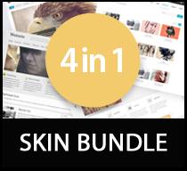 WSC 4 in 1 skin bundle